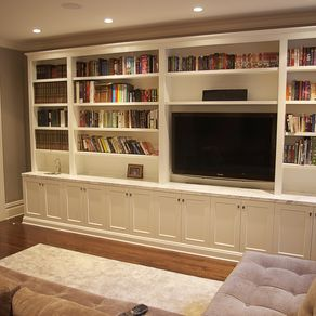 Living Room Media Unit By Tyler Merson