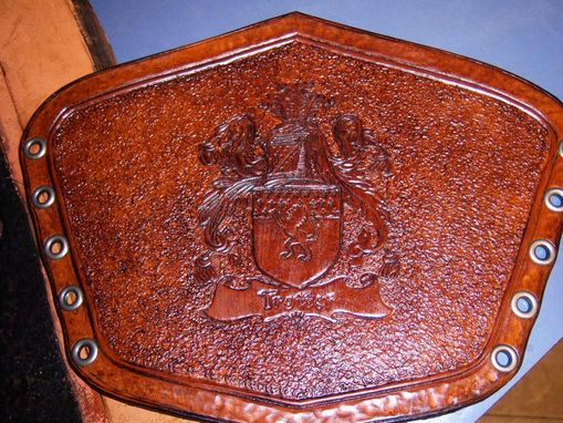 Custom Made Family Crest Bracers