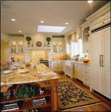 Custom Made Quintessential Manor House Kitchen