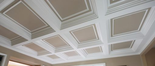 Custom Made Coffered Ceiling System 4