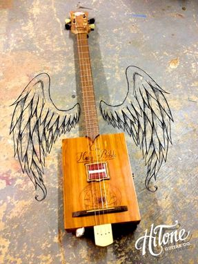 Custom Made Holy Cigar Box Guitar
