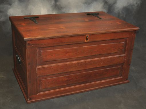 Custom Made Toy Chest Made From Antique Doors