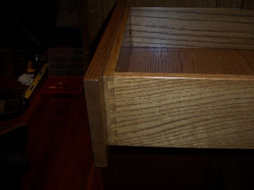 Custom Made Mission-Style Gun Safe Cabinet