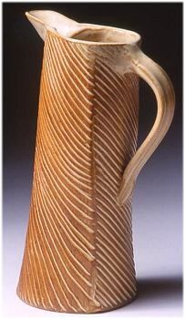 "Custom Made 10.5"" High Tilted Pitcher ~ Cost $94.50"