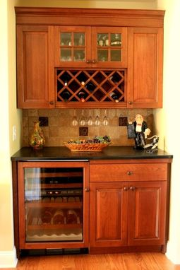 Custom Made Wine And Drinks Bar.