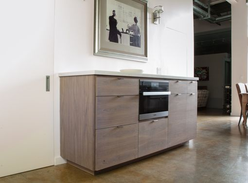 Custom Made Modern Walnut Kitchen