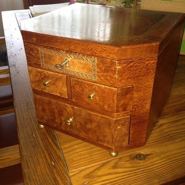 Custom Made Lacewood Male/Female Jewelry Box
