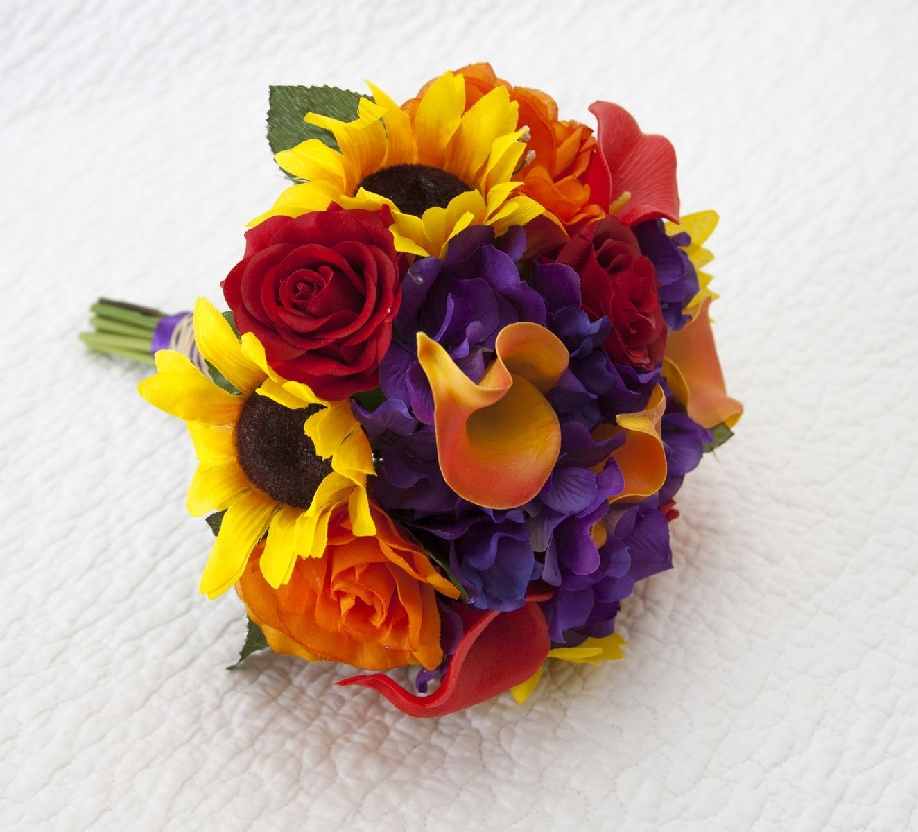 Fall Wedding Flowers With Sunflowers - Flowers Healthy