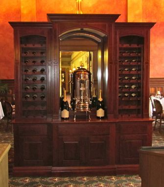 Custom Made Wine Hutch