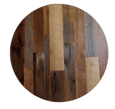 Custom Made Reclaimed Round Table, Farmhouse Table, Round Table, Reclaimed Wood Furniture,