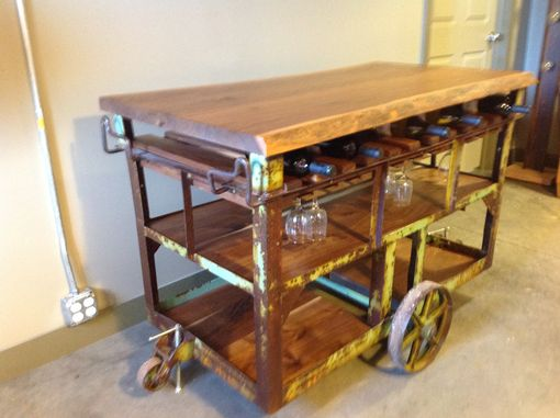 Custom Made Wine Cart