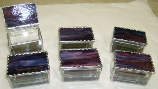 Custom Made Bridesmaid Trinket Boxes