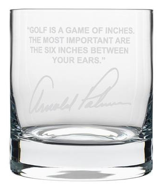 Custom Made Sports Quotes Personalized Whiskey Glasses
