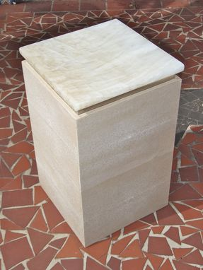 Custom Made Stingray Shagreen Occassional Tables