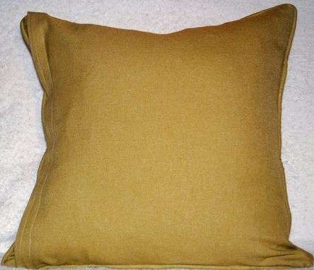 Custom Made Citrus Green Accent Pillow