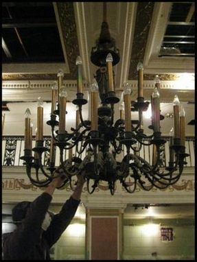 Custom Made Patrick Henry Hotel Lighting Restoration