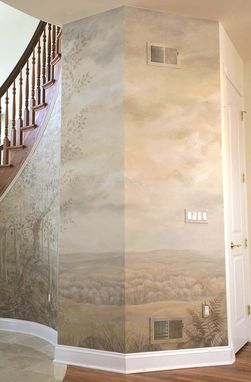 Custom Made Entrance Foyer Mural
