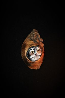 Custom Made Owl Wood Wall Carving Sculpture