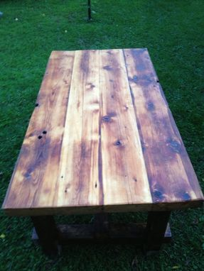 Custom Made Reclaimed Pub Table