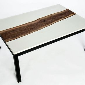 Hand Made Concrete Topographic Sink By Concrete Pete CustomMadecom - Topographic coffee table