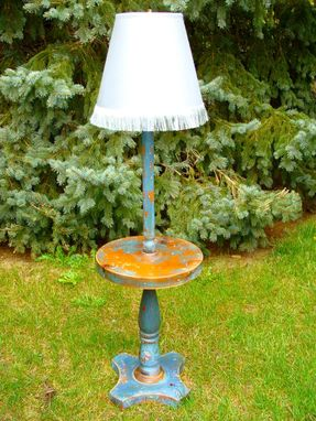Custom Made Vintage Patina Lamps