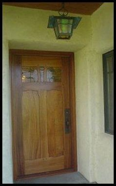 Custom Made Greene & Greene Inspired Entry Systems