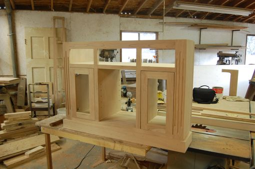 Custom Made Build In Television Cabinet