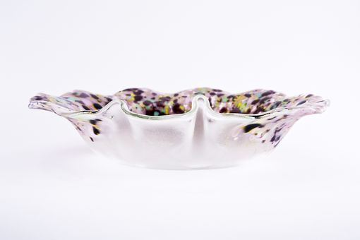 Custom Made Funky Frit Bowl