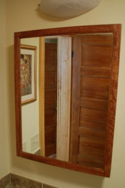 Custom Made Country Bathroom Oak Medicine Cabinet