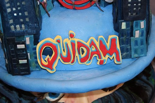 Custom Made Cirque Du Soleil Quidam Cake Art
