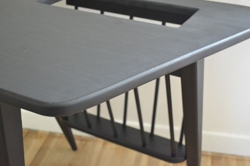 Custom Made Mid Century Magazine Table