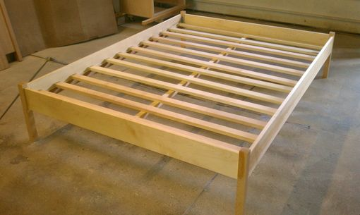 Custom Made Platform Bed With Low Head & Foot Board
