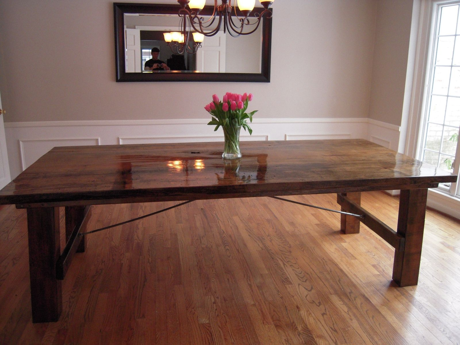 handmade spalted maple table by sanford customs. Black Bedroom Furniture Sets. Home Design Ideas