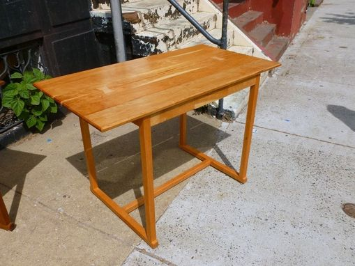 Custom Made Cherry Writing Desk Table