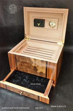 Custom Made Humidor Handcrafted In The U.S. Hd75-1
