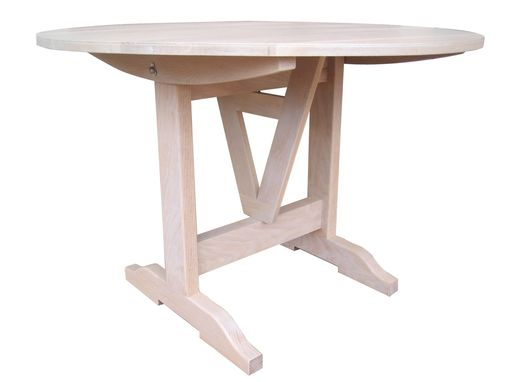 Custom Made French Wine Tasting Table - Tilt Top