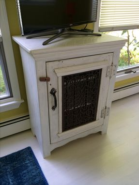 Custom Made Small Entertainment Console