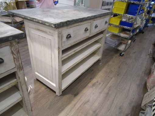 Custom Made Kitchen Counters Made From Reclaime Wood In The Usa