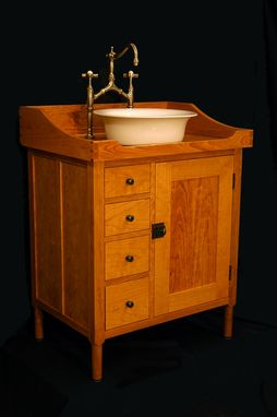 Custom Made Shaker Vanity / Washstand