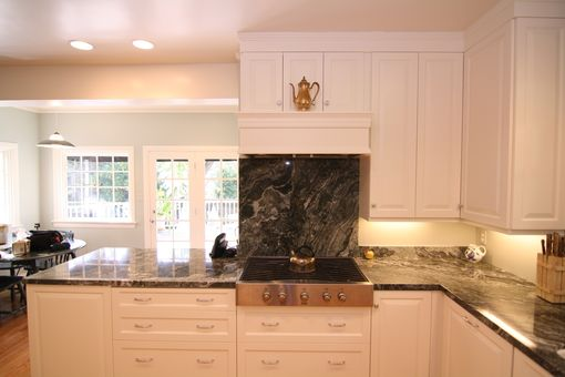 Custom Made Painted Modern Kitchen