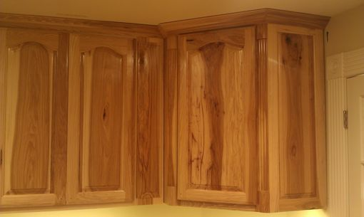 Custom Made Hickory Kitchen Custom Cabinets