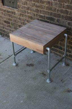 Custom Made Pipe End Table