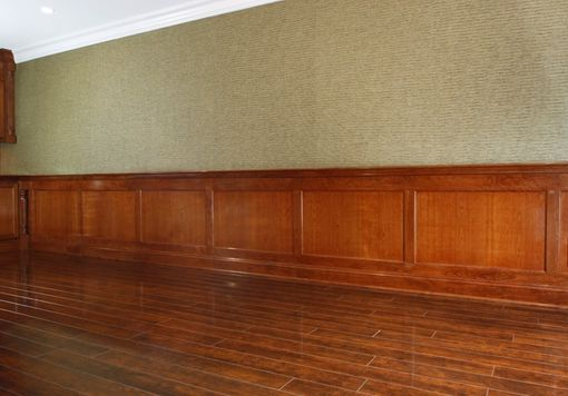 Custom Made Recessed Panel Wainscoting