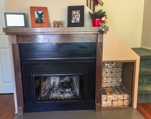 Custom Made Fireplace Surround