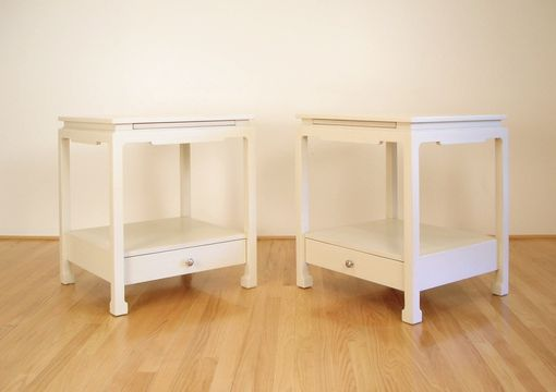 Custom Made Asian-Style Side Tables