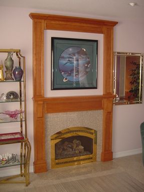 Custom Made Living Room Mantel