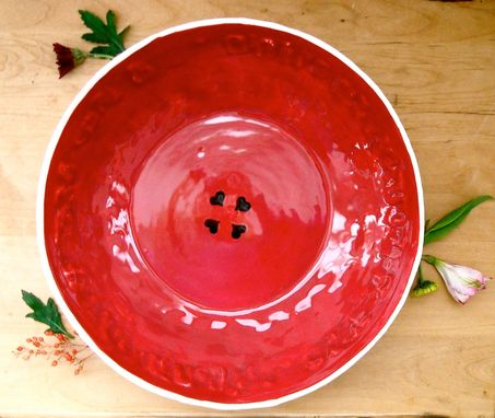 Custom Made Large Serving Bowl - I Am My Beloveds, Song Of Solomon Quote