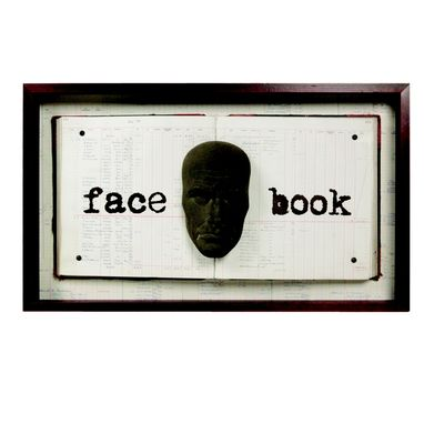 "Custom Made ""Facebook"" Sculpture"