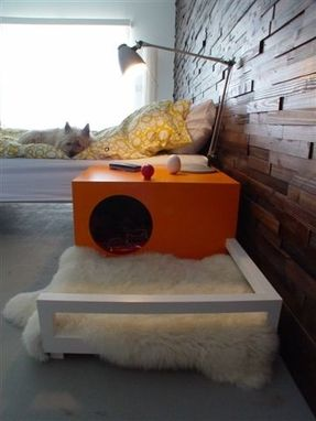 Custom Made Indoor Dog House/Bedside Table
