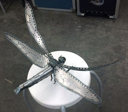 Custom Made Metal Dragonfly